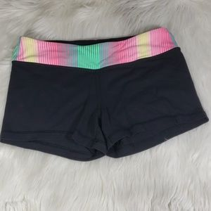 Ivivva by lululemon athletica reversible shorts 14